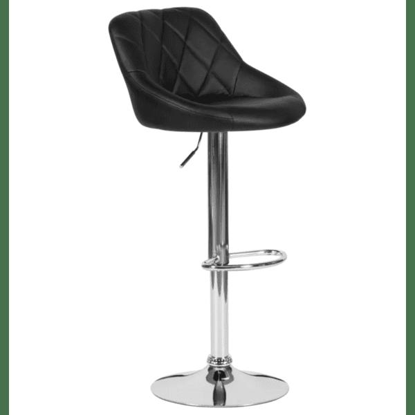 Бар стол Carmen 4020 - черен