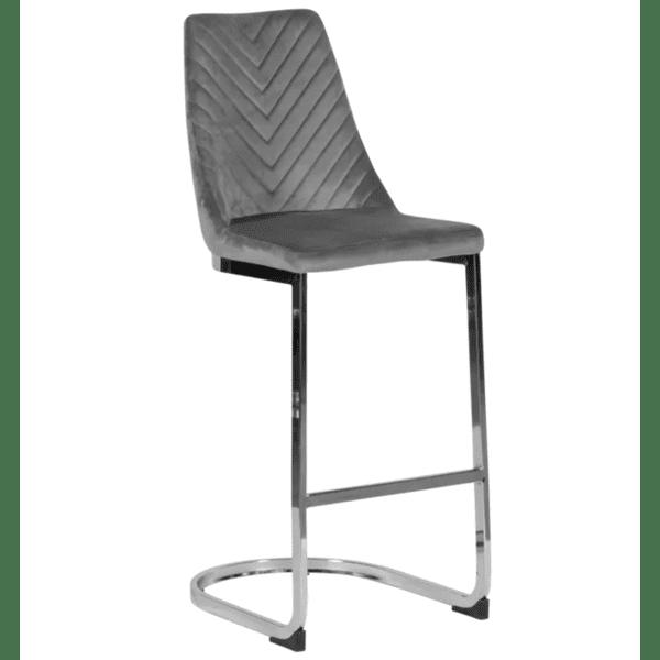 Бар стол GRAYS - сив BF 2