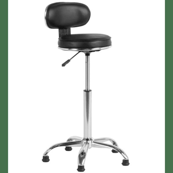 Бар стол Carmen 3087 - черен