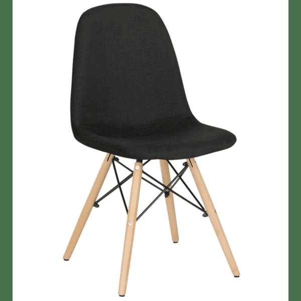 Трапезен стол Carmen 9963 - черен