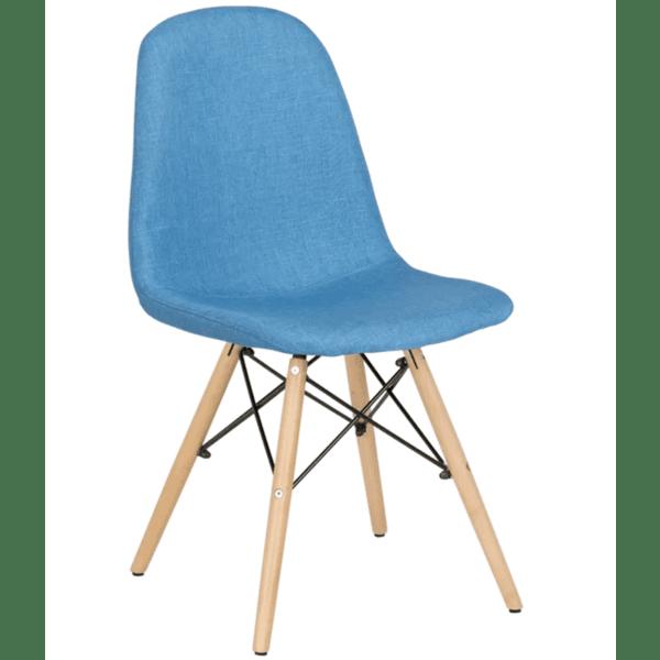 Трапезен стол Carmen 9963 - ярко син