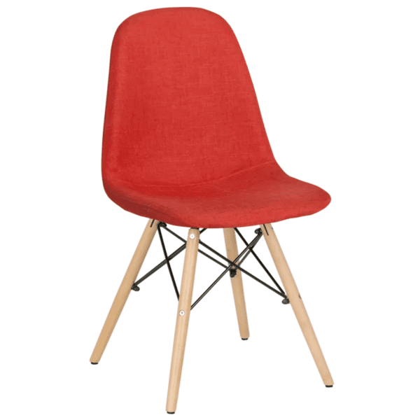 Трапезен стол Carmen 9963 - тъмно оранжев