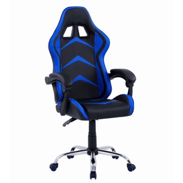 Геймърски стол Gami черен-син цвят