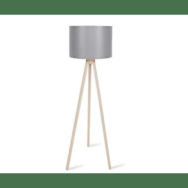 Подова лампа  крака sonoma-сива PVC шапка Φ37x147cm