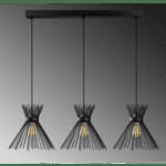 Модерна окачена таванна лампа Ная