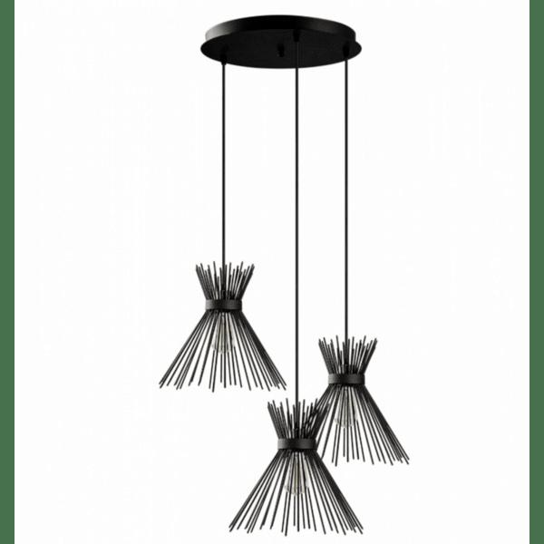Модерна окачена таванна лампа  Ника