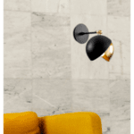Модерна метална стенна лампа Таки 20Χ26Χ25 см