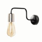 Стенна метална лампа