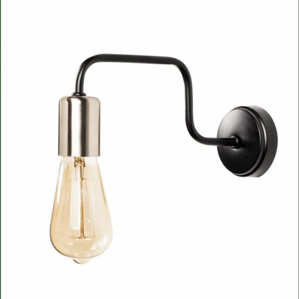 Стенна метална лампа Анн 28х4х11см