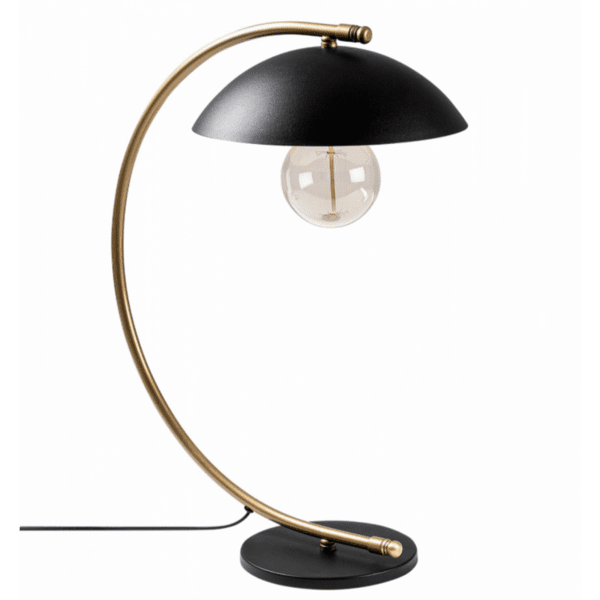 Настолна метална лампа   26x43x55 см