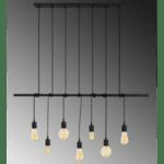 Модерна метална таванна лампа Seven