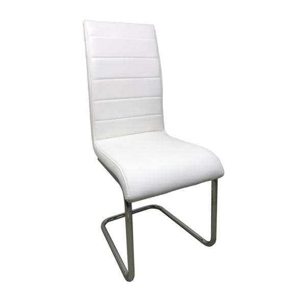 Трапезен стол К309 бял