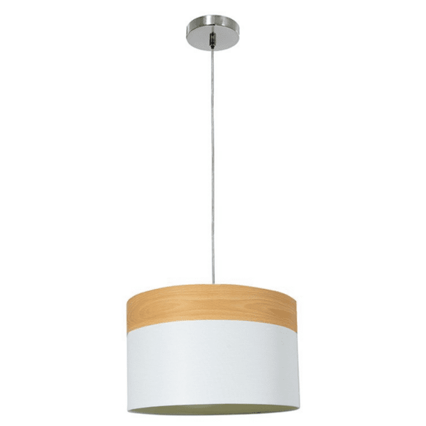Висяща текстилна лампа 107 Φ40x25,5cm
