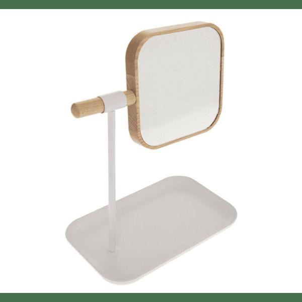 Огледало за баня Nature  естествен-бял цвят
