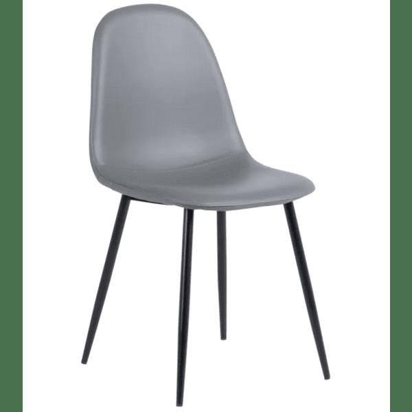 Трапезен стол Carmen 327 - сив