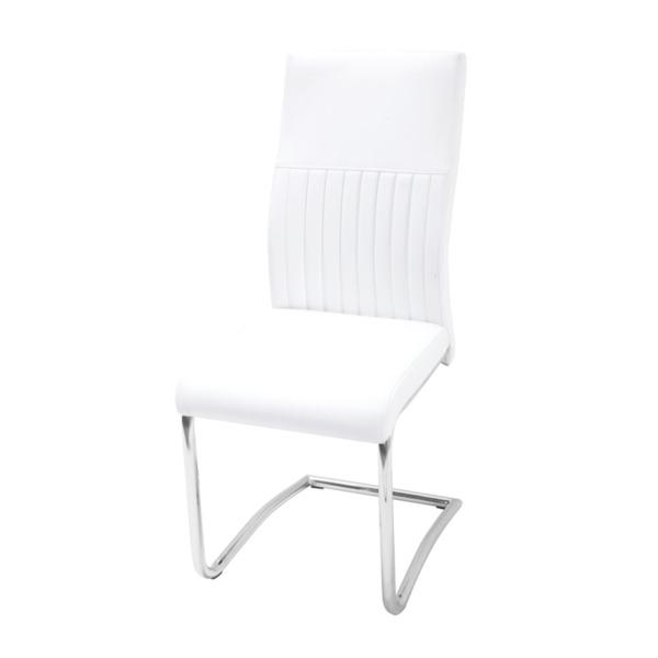 Трапезен стол К265/бял