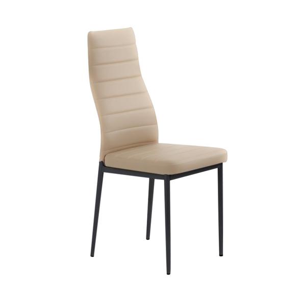 Трапезен стол К70/светло кафяв