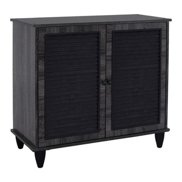Шкаф за обувки /тъмно сив