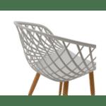 Стол Ezra цвят сив