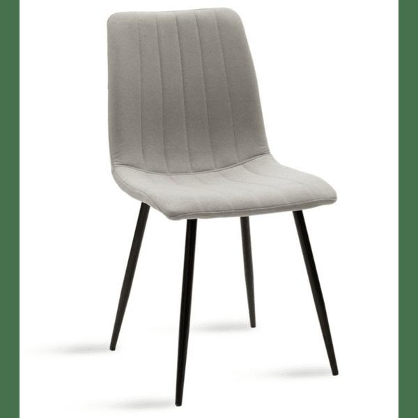 Трапезен стол  Noor сив цвят