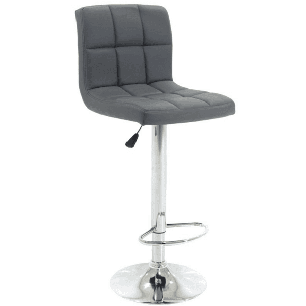 Бар стол Remina сив цвят