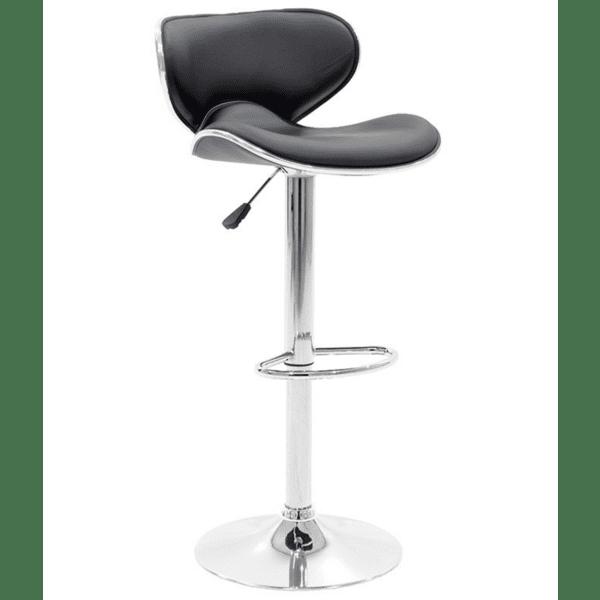Бар стол Butterfly черен цвят