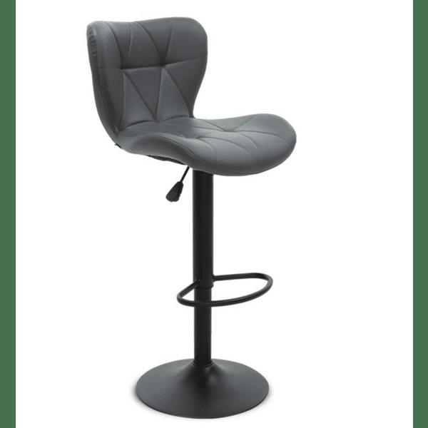 Бар стол Cozi цвят сив