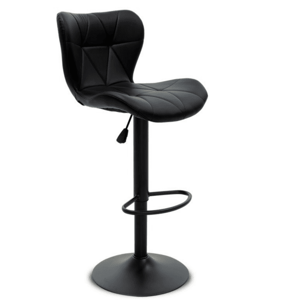 Бар стол Cozi цвят черен