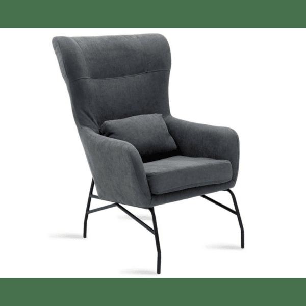 Кресло Rimbo сив плат