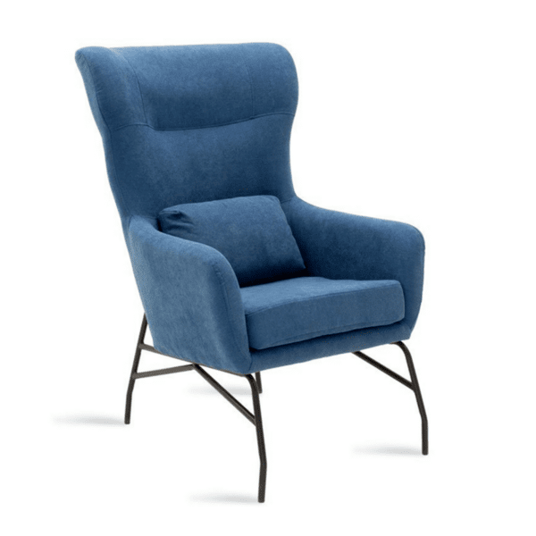 Кресло Rimbo син цвят
