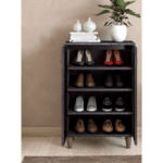Шкаф за обувки SANTO 10 чифта венге цвят 60x34,5x91,5cm