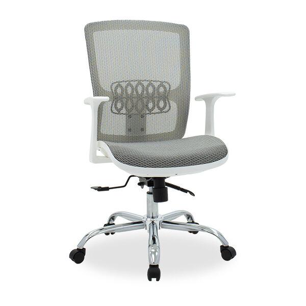 Офис стол стол Kadi /бял-мрежа