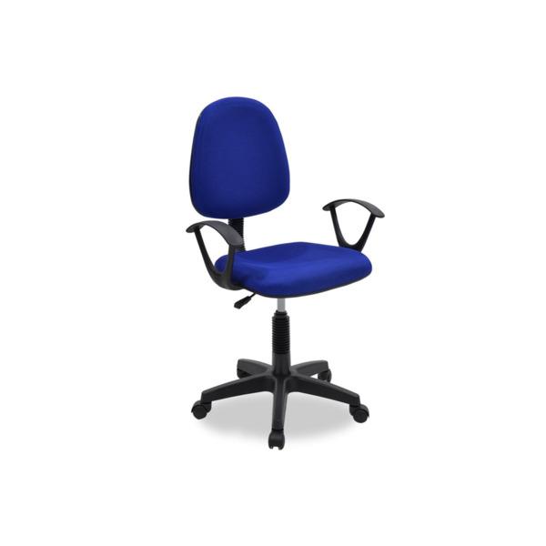 Maria  стол за работно бюро със син мрежест плат