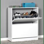 Шкаф за обувки Лукс 12/бял