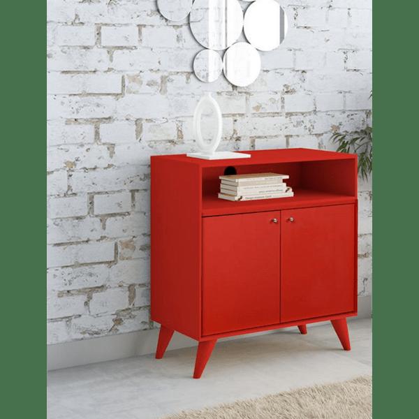 Многофункционален шкаф Лондон червен