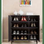 Шкаф за обувки Санто/венге -16чифта