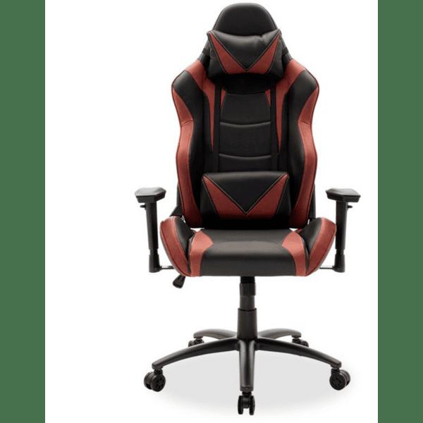 Офис стол Russel-Gaming SUPREME цвят черен-бордо