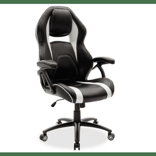 Офис стол Schumacher черно-бял