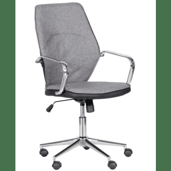 Работен офис стол Carmen 6374 - сив