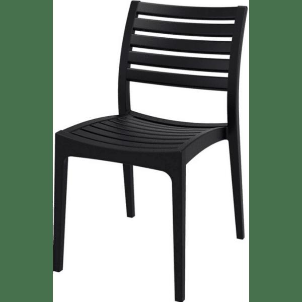 Стол Арес черен полипропилен АМ