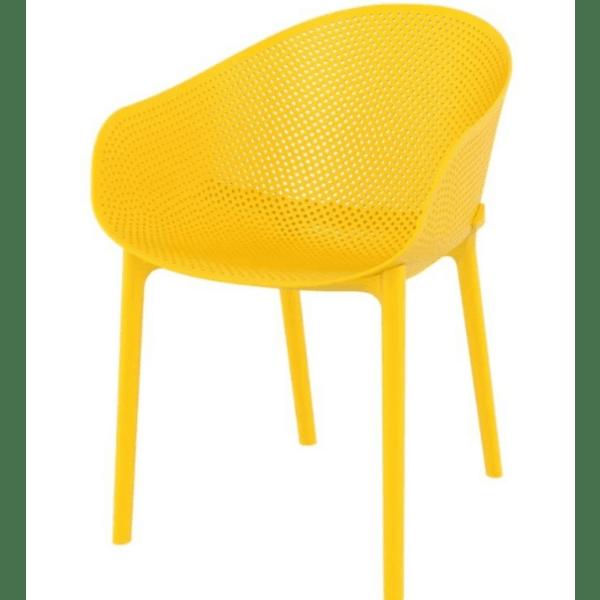 Стол Скай жълт