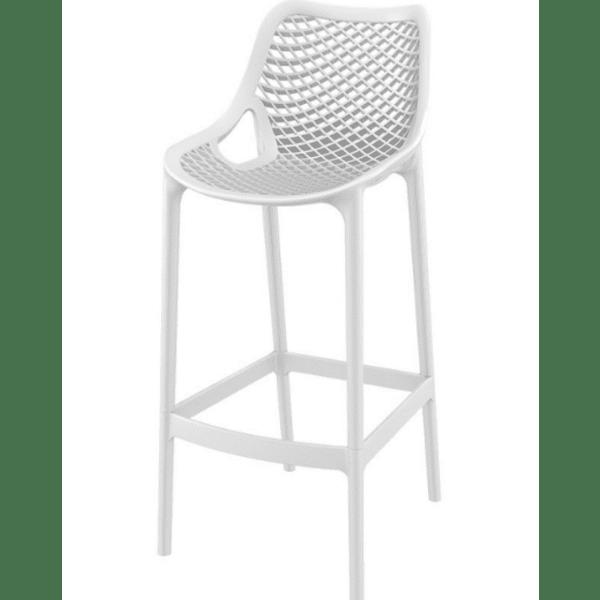 Бар стол Еър бял