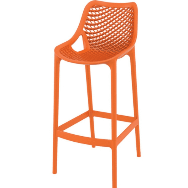 Бар стол Еър оранжев