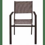 Метален стол Кросел кафе