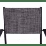 Метален стол Кросел сив