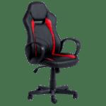 Геймърски стол Carmen 7525 - черно-червен
