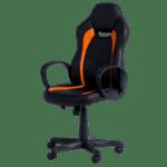 Геймърски стол Carmen 7525 - черно-оранжев