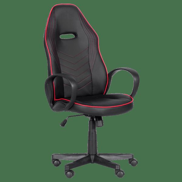 Геймърски стол Carmen 7530 - черно - червен