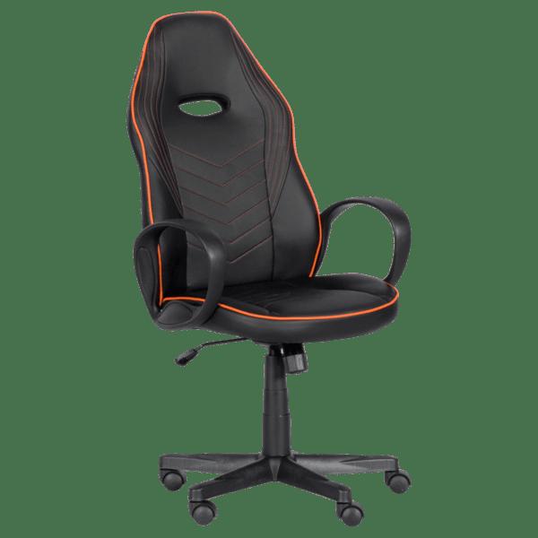 Геймърски стол Carmen 7530 - черно - оранжев