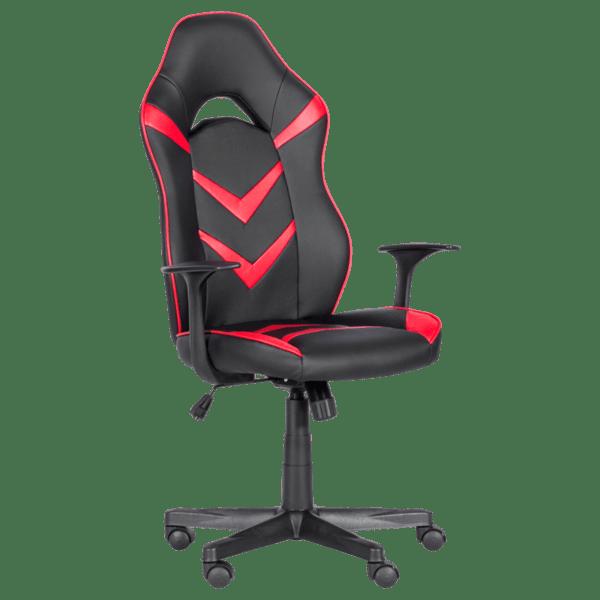 Геймърски стол Carmen 7531 - черно-червен
